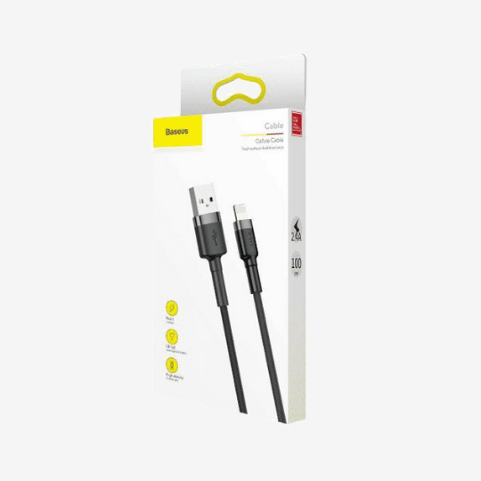 Baseus Cafule Cable USB to Lightning Cable, 2.4 A 1M